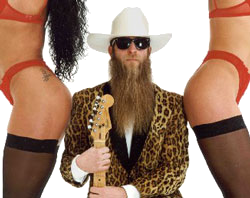 ZZ Top Liveband / Coverband BRUZZLER